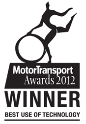 Motor Transport Awards 2012 - Winner: Best USe of Technology